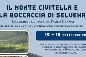 Escursione Monte Civitella e Roccaccia di Selvena, Grosseto