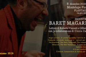 Incntro con Baret Magarian